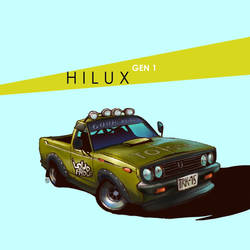H I L U X  by DUST2196