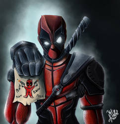 Deadpool! (pewww peww peww) by Maurosk8
