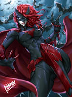 Batwoman Fanart by Hibren