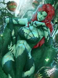 Poison Ivy Fanart by Hibren