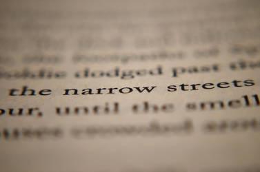 The Narrow Street by leonsnowy