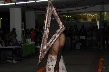 Pyramid head cosplay shoot # 01 by SONATOZ