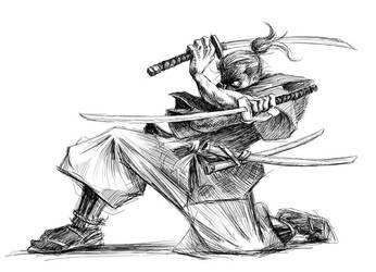 Samurai 1 by akira337