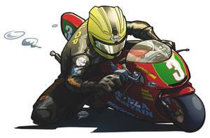Joey Dunlop 2 by akira337