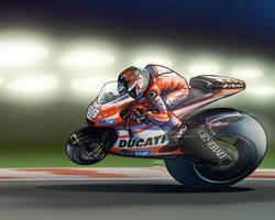 Nicky Hayden by akira337