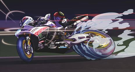 Monster Yamaha Endurance Team by akira337