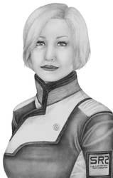 Dr. Karin Chakwas by Sayamaru