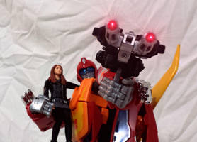 Hot Rod and Amy. by GiantGeekyRobot