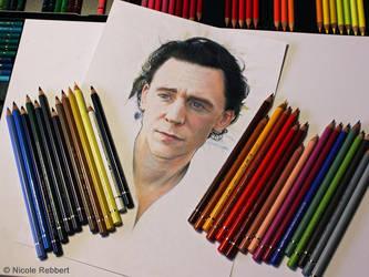 Tom Hiddleston WIP by Quelchii