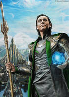 Loki - King of Asgard by Quelchii