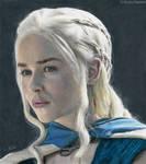Daenerys Targaryen by Quelchii