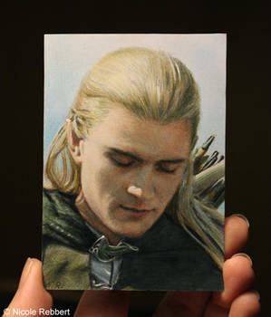 Legolas sketch card by Quelchii
