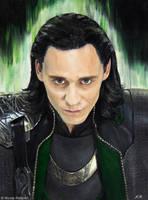 Loki (oil) by Quelchii
