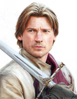 Jaime Lannister (drawing) by Quelchii