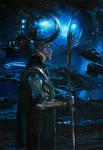 Loki of Asgard (redraw) by Quelchii