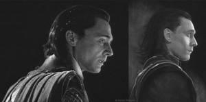 Loki (black paper) by Quelchii