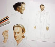 Some works in progress (2) by Quelchii