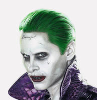 Joker - Suicide Squad (drawing) by Quelchii