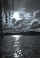 Monochrome Lake (c) OJZ 2018 by OJZEIDLER