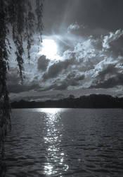 Monochrome Lake (c) OJZ 2018 by OJZEIDLER