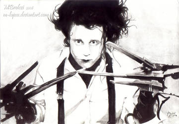 Edward scissorhands by m-lupus