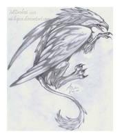 Guardian Griffon by m-lupus