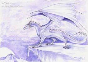 Ice Dragon by m-lupus