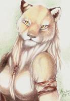 Felina by m-lupus