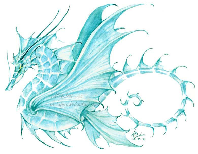 Sea Dragon by m-lupus