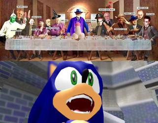 Sonic a ver caralladas na ultima cea psicanalistas by MarceloRenard2