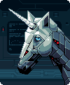 Space unicorn by gas13