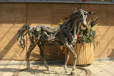 STOCK PHOTO wooden horse by MaureenOlder