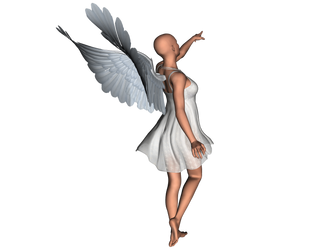STOCK PNG angel 7 by MaureenOlder