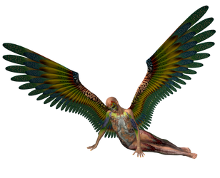 STOCK PNG angel of colour2 by MaureenOlder