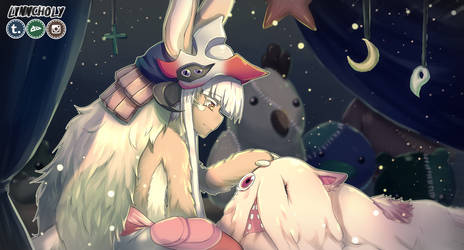 Nanachi and Mitty by lynncholy