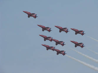 Red Arrows by AllFourOne