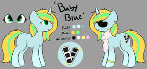 : CLOSED : Auction - Baby Blue by StarStruckSocks