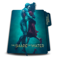 The Shape Of Water vertical movie folder icon 3D by zenoasis