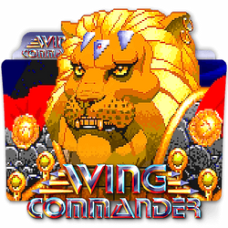 Wing Commander II DOS PC game folder icon v1 by zenoasis