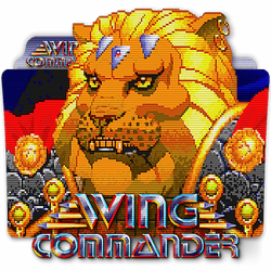 Wing Commander II DOS PC game folder icon v2 by zenoasis