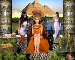 Cleopatra Queen of the Nile by DavienOrion