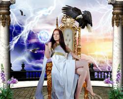 Goddess Zeus by DavienOrion