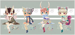 Sitting Shota batch [Closed ] by pakeji