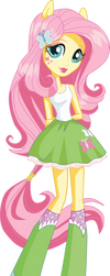 Vector Equestria Girls Box Fluttershy by Will290590