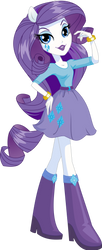 Vector Equestria Girls Box Rarity by Will290590