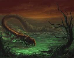 Loch Ness monster by kircida