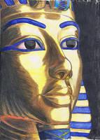 King Tutankhamun by MyWorld1