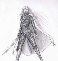 Elven Warrior Princess by MyWorld1