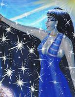 Nut, Goddess of the Sky by MyWorld1