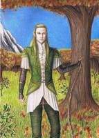 Legolas, Prince of Mirkwood by MyWorld1